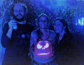 Our prize-winning pumpkin!